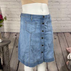 CHAPS DENIM Jean Skirt Size: 12
